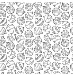 beautiful monochrome black and white pattern vector image