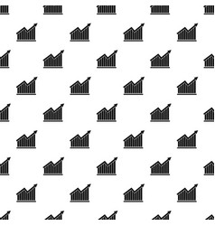 best graph pattern repeat vector image