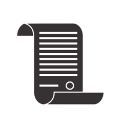 Law decree icon vector
