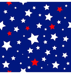 Stars USA Flag Pattern vector image