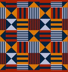 Vivid flag abstract seamless pattern vector