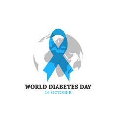 World diabetes day image design vector
