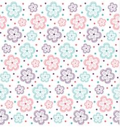 Pattern flower ornate3 vector