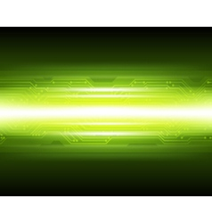 Abstract Techno Microchip Background vector image vector image
