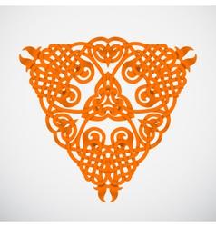 orange native ornament vector image