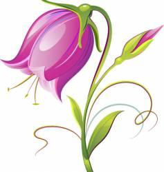 Bell flower vector