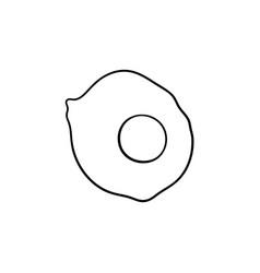 eggs hand drawn sketch icon vector image