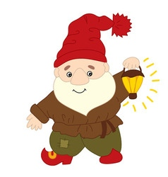 Forest Gnome vector image