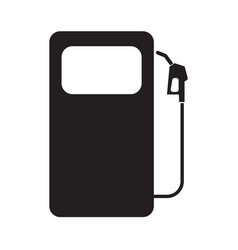 gas station symbol icon with flat color style vector image
