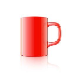 Realistic mug vector