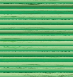 Timbered wall green pattern vector