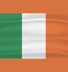 ireland flag vector image