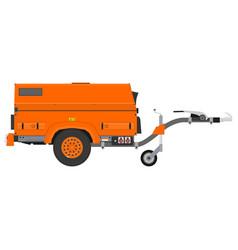 mobile generator vector image