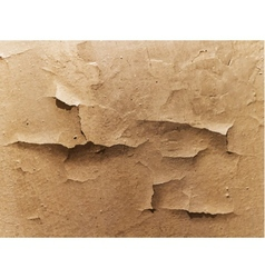 old cracked wall vector image