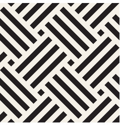 Seamless pattern geometric striped woven stripes vector