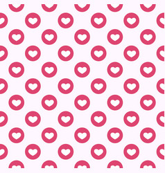 social media like symbol background vector image