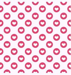 social media like symbol background vector image