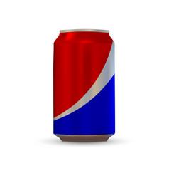 Soda aluminium can vector