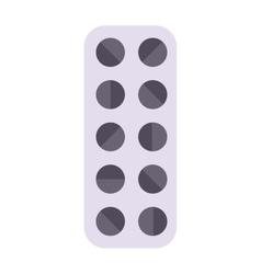 Tablet pills vector image