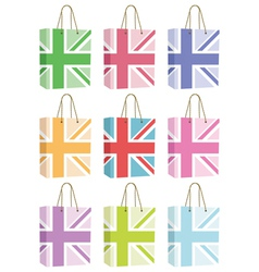 uk bags vector image