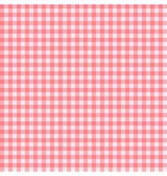 Checkered Tablecloth Seamless Pattern Background vector image