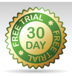 free trial vector image