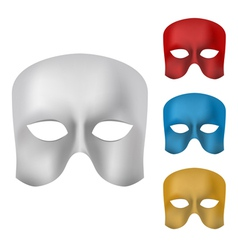 Mask set vector image vector image