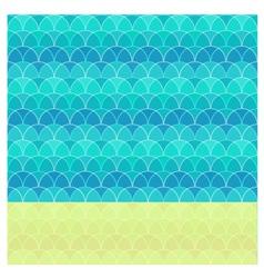 Abstract beach vector image