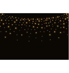 abstract christmas lights vector image