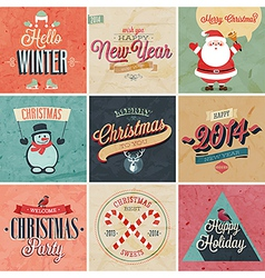 christmas set2 vector image