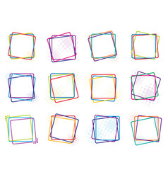 Color frames vector