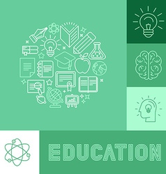 Education concepts vector