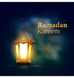 Ramadan Kareem Lantern vector