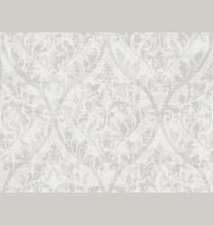 Vintage baroque ornament pattern victorian vector
