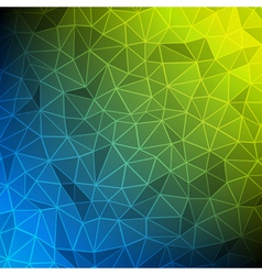 Abstract mesh technology background vector