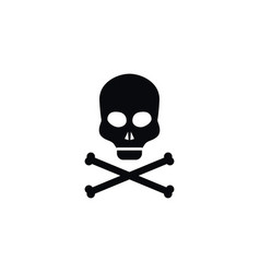 isolated dead icon bone element can be vector image