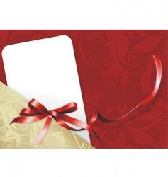 Congratulatory card vector
