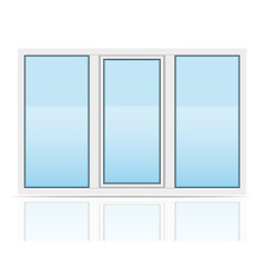 plastic window 04 vector image vector image
