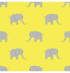 Elephant Seamless Pattern vector