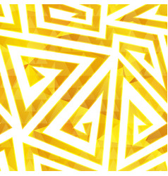 gold spiral seamless pattern vector image