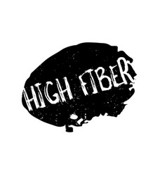 High fiber rubber stamp vector