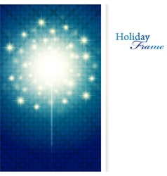 Holiday sparkle vector