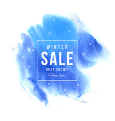 sale square banner over blue background vector image
