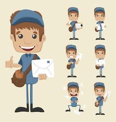 Set postman vector