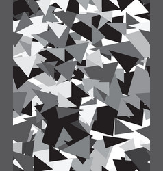 triangular geometric abstract seamless pattern vector image