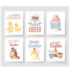 easter holiday vector image