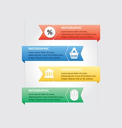Infographic 50 vector image vector image