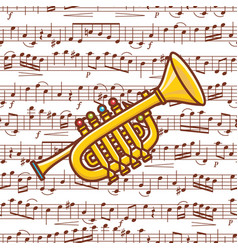 trumpet toy toy vector image