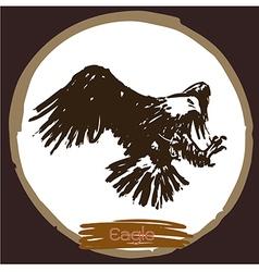 Eagle 3 vector image vector image