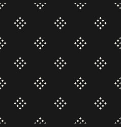 geometric pattern with small diamond shapes vector image vector image